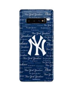 New York Yankees - Cap Logo Blast Galaxy S10 Plus Skin