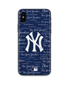 New York Yankees - Cap Logo Blast iPhone XS Max Skin