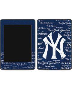 New York Yankees - Cap Logo Blast Amazon Kindle Skin