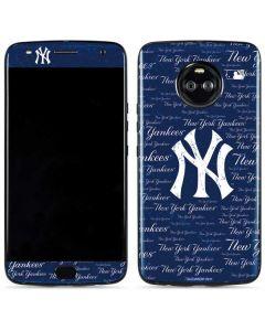 New York Yankees - Cap Logo Blast Moto X4 Skin
