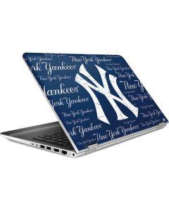 New York Yankees - Cap Logo Blast HP Pavilion Skin