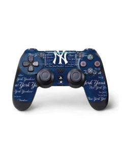 New York Yankees - Cap Logo Blast PS4 Pro/Slim Controller Skin