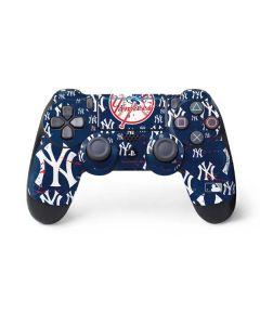 New York Yankees - Primary Logo Blast PS4 Pro/Slim Controller Skin