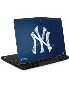 New York Yankees - Solid Distressed Dell Alienware Skin