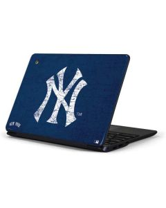 New York Yankees - Solid Distressed Samsung Chromebook Skin