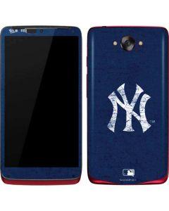 New York Yankees - Solid Distressed Motorola Droid Skin