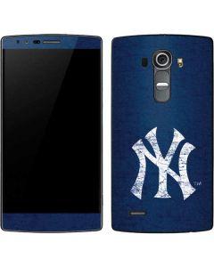 New York Yankees - Solid Distressed G4 Skin