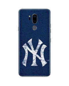 New York Yankees - Solid Distressed G7 ThinQ Skin