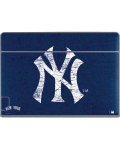 New York Yankees - Solid Distressed Galaxy Book Keyboard Folio 12in Skin