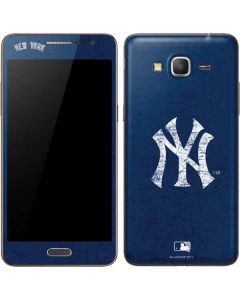 New York Yankees - Solid Distressed Galaxy Grand Prime Skin