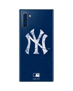 New York Yankees - Solid Distressed Galaxy Note 10 Skin