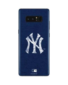 New York Yankees - Solid Distressed Galaxy Note 8 Skin