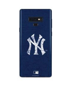 New York Yankees - Solid Distressed Galaxy Note 9 Skin