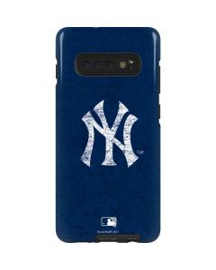 New York Yankees - Solid Distressed Galaxy S10 Plus Pro Case