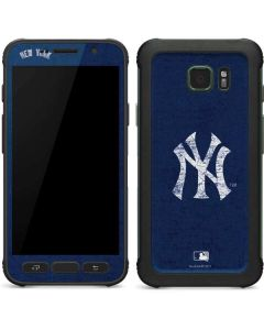 New York Yankees - Solid Distressed Galaxy S7 Active Skin
