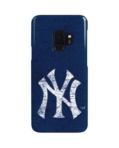 New York Yankees - Solid Distressed Galaxy S9 Lite Case