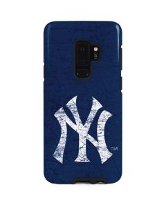 New York Yankees - Solid Distressed Galaxy S9 Plus Pro Case