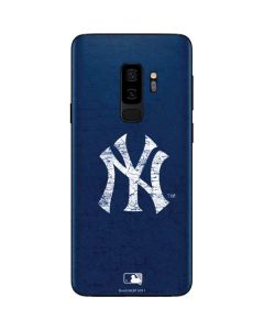 New York Yankees - Solid Distressed Galaxy S9 Plus Skin