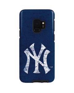 New York Yankees - Solid Distressed Galaxy S9 Pro Case