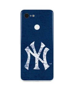 New York Yankees - Solid Distressed Google Pixel 3 Skin