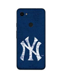 New York Yankees - Solid Distressed Google Pixel 3a Skin