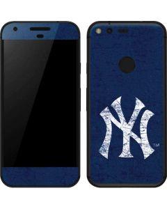 New York Yankees - Solid Distressed Google Pixel Skin