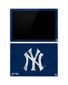 New York Yankees - Solid Distressed Google Pixel Slate Skin
