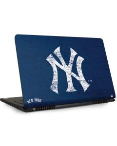 New York Yankees - Solid Distressed Dell Inspiron Skin