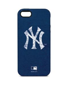 New York Yankees - Solid Distressed iPhone 5/5s/SE Pro Case