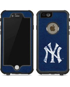 New York Yankees - Solid Distressed iPhone 6/6s Waterproof Case