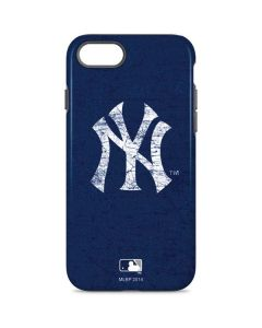 New York Yankees - Solid Distressed iPhone 7 Pro Case