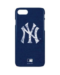 New York Yankees - Solid Distressed iPhone 8 Lite Case