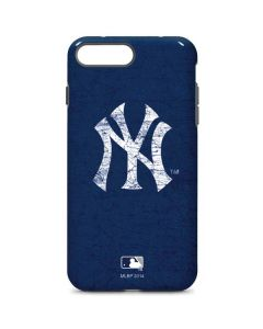 New York Yankees - Solid Distressed iPhone 8 Plus Pro Case