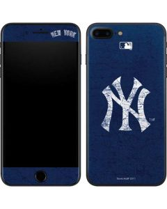 New York Yankees - Solid Distressed iPhone 8 Plus Skin