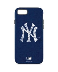 New York Yankees - Solid Distressed iPhone 8 Pro Case