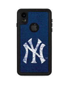 New York Yankees - Solid Distressed iPhone XR Waterproof Case