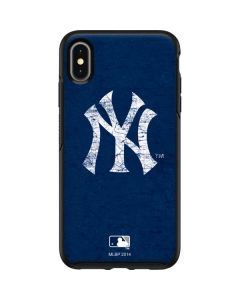 New York Yankees - Solid Distressed Otterbox Symmetry iPhone Skin