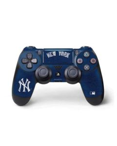 New York Yankees - Solid Distressed PS4 Pro/Slim Controller Skin