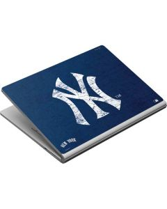 New York Yankees - Solid Distressed Surface Book Skin