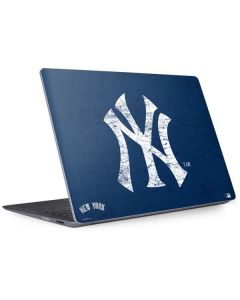New York Yankees - Solid Distressed Surface Laptop 2 Skin
