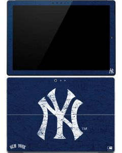 New York Yankees - Solid Distressed Surface Pro 4 Skin