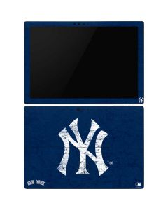 New York Yankees - Solid Distressed Surface Pro 6 Skin