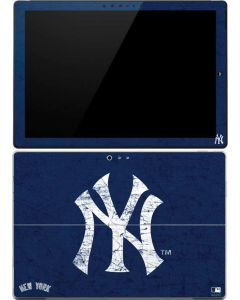 New York Yankees - Solid Distressed Surface Pro (2017) Skin
