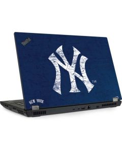 New York Yankees - Solid Distressed Lenovo ThinkPad Skin
