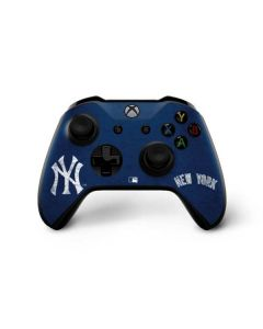 New York Yankees - Solid Distressed Xbox One X Controller Skin