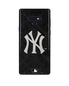 New York Yankees Dark Wash Galaxy Note 9 Skin