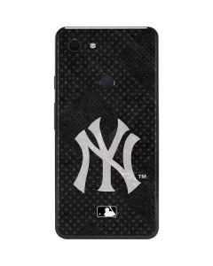New York Yankees Dark Wash Google Pixel 3 XL Skin