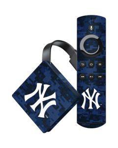 New York Yankees Digi Camo Amazon Fire TV Skin