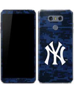 New York Yankees Digi Camo LG G6 Skin