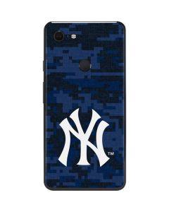 New York Yankees Digi Camo Google Pixel 3 XL Skin